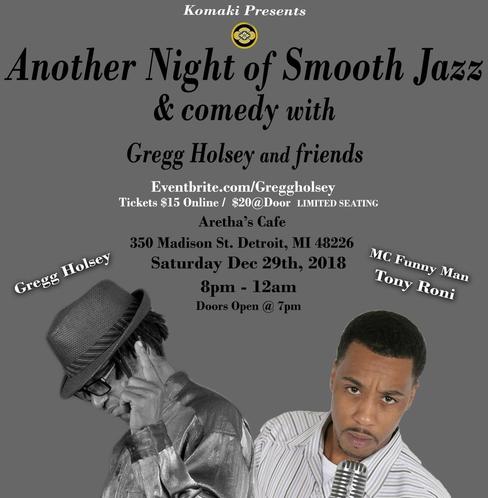 Another Night of Smooth Jazz & Comedy